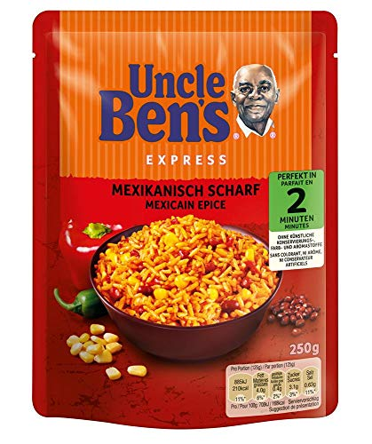 Uncle Ben\'s Express-Reis Mexikanisch Scharf, 250g