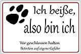 #Viele verschiedene Hundeschilder 29,5cm * 20cm * 2mm von SchwabMarken, 1 St�ck Bild