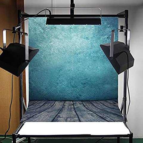 FLORATA 3x5ft Photography Backdrop Background Photo Studio Prop Ocean Blue Backdrop Studio Prop Background