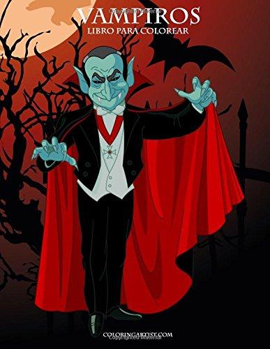 (Vampiros libro para colorear 1)
