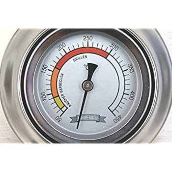 BBQ Grillthermometer analogThermometer für GasgrillDeckelthermometer