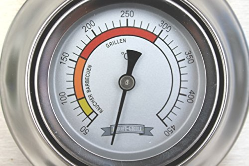 BBQ, Grill Deckelthermometer, Grillthermometer