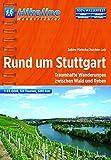 Hikeline Rund um Stuttgart 1:50 000: Traumhafte Wanderungen zwischen Wald und Reben (Hikeline /Wanderführer)