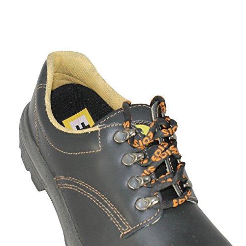 Edis businesschuhe s3 oRO berufsschuhe plat chaussures noir Noir - Noir