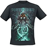 Photo de Disturbed Evolve T-Shirt Manches Courtes Noir par Disturbed