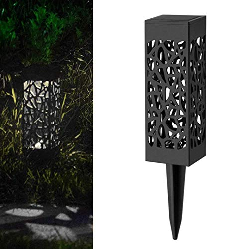 Solar LED Pfad Licht Landschaft Rasen Garten Dekoration Smart Light Control Outdoor Hof...