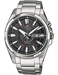Casio Edifice – Herren-Armbanduhr mit Analog-Display und Massives Edelstahlarmband – EFR-102D-1AVEF