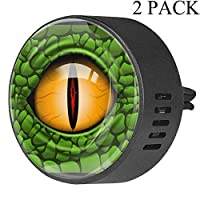Eslifey Reptile Animal Dinosaur Alligator Snke Lizard Eye Car Diffuser Air Freshener Air Freshener Vent Clip for Car Office Home Bathroom House, Ocean Breeze