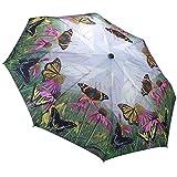 Galleria automatische Öffnen und Schließen Taschenschirm - Schmetterling Berg