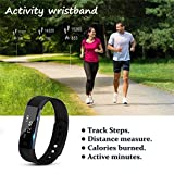 Smart Armband Point Touch Pushman YG3 Bluetooth Anruf Remind Remote Self-Timer Smart Band Kalorienzähler Wireless Pedometer Sport Schlaf Monitor Aktivität Tracker Für Android iOS Telefon, Einzelpackung(Schwarz) - 9