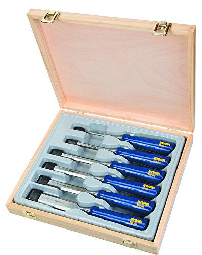 Irwin Blue Chip M444 Stechbeitel-Satz 6, 10, 13, 19, 25, 32 mm, 6-teilig, TM444S6