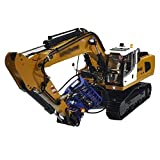 HYLH Escavatore Idraulico in Metallo 1/14 Telecomando RC modello-946