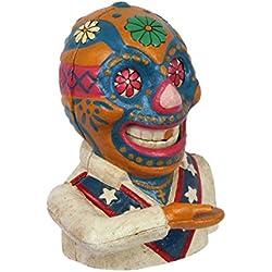 Decoratie Luchador Mexicano con función hierro fundido 17cm