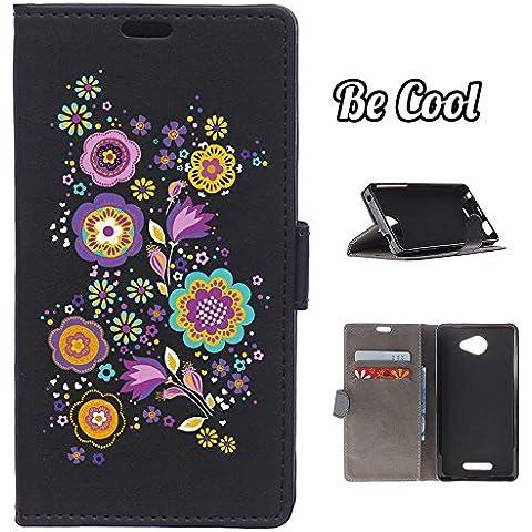 BeCool® - Funda carcasa tipo Libro para Lenovo K5 Note protege tu Smartphone ya que se adapta a la perfección, tiene Función Soporte, ranuras para tus tarjetas y billetes sin olvidar nuestro exclusivo diseño