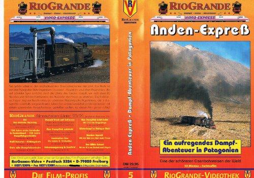 Preisvergleich Produktbild Anden-Expreß - Ein aufregendes Dampf-Abenteuer in Patagonien [VHS]