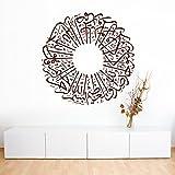 A207 | Meccastyle | Islamische Wandtattoos - Ihlas Suresi- XXL - 115cm x 115cm- 06. Silber