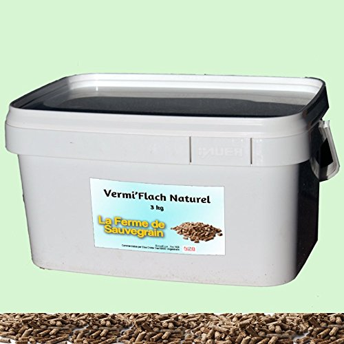 DerBauernhof Natürlicher Wurmmittel für Hühner - VermiFlash Wurmkur - 3kg
