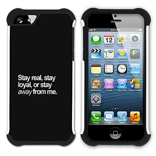 Graphic4You Like A Boss Design Hart + Weiche Kratzfeste Hülle Case Schale Tasche Schutzhülle für Apple iPhone SE / 5 / 5S Design #8
