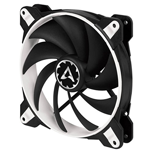 Arctic BioniX F140-140 mm Gaming Gehäuselüfter mit PWM PST, Case Fan mit PST-Anschluss (PWM Sharing Technology), Reguliert RPM synchron - Weiß -