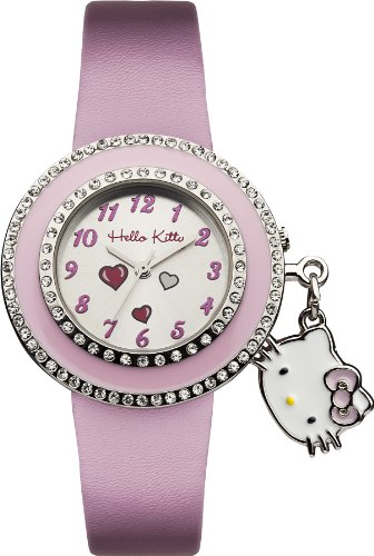 Hello Kitty - 26154 - Montre Fille - Quartz Analogique - Bracelet Plastique Rose