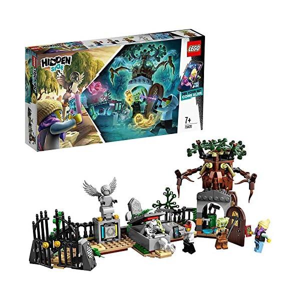 LEGO - Hidden Side Mistero nel Cimitero Set di Costruzione, Set per la Realtà Aumentata per iPhone/Android, 70420 1 spesavip