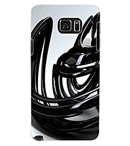 ColourCraft Abstract Image Design Back Case Cover for SAMSUNG GALAXY NOTE 5
