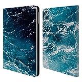 Head Case Designs Offizielle PLdesign Meer Wasser Brieftasche Handyhülle aus Leder für iPad Air (2013)