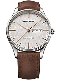 LOUIS ERARD MEN'S HERITAGE 41MM LEATHER BAND AUTOMATIC WATCH 72288AA31.BVA01