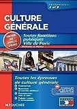 Image de Culture générale méthode et thèmes catégories A et B (Concours Fo