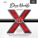 Dean Markley 2511 Jeu de cordes pour guitare électrique Hélix HD Ltd 9-42