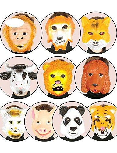 CARETAS DE ANIMALES 10 MODELOS SURTIDOS