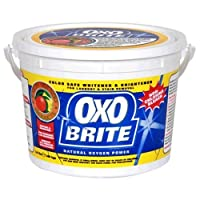 Earth Friendly Products Oxo-Brite, Color-Safe Whitener & Brightener, 57.6-Ounces (3.6 LB.) (Pack of 2) by Earth Friendly Products
