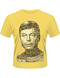Plastic Head Men's Star Trek Dr Bones Mccoy Banded Collar Short Sleeve T-Shirt