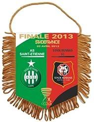 Fanion - Collection officielle Finale Coupe de la Ligue 2013 de Football - ASSE / RENNES