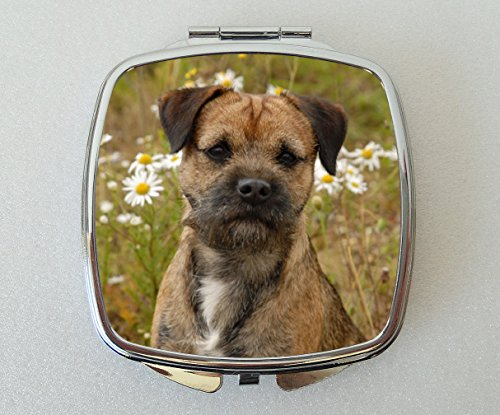 Starprint Sublimation Border Terrier Miroir Compact Fantaisie Cadeau