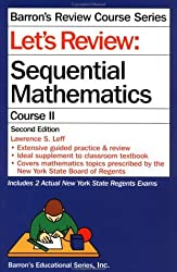 Let's Review: Sequential Mathematics, Course II (Barron's Review Course) by Lawrence S. Leff (1996-02-01)