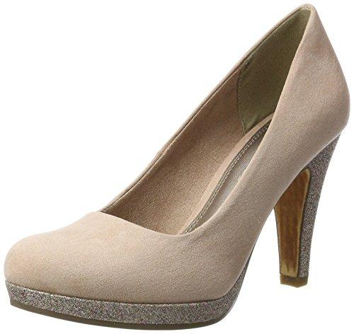 Marco Tozzi 22441, Zapatos De Tacón Rojo Para Mujer (rose Comb)