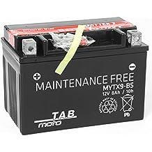 TAB YTX9-BS Batería de moto 12V 8Ah 90A Sellada, sin mantenimiento