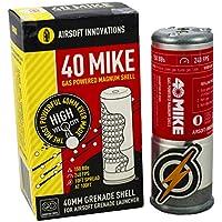 40 Mike di Granate a Gas Mike e Patch di F & O per Airsoft Launchers 150 BBS in un colpo Solo.