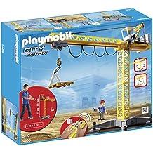 Playmobil Construcción - Grúa con radio control (5466)