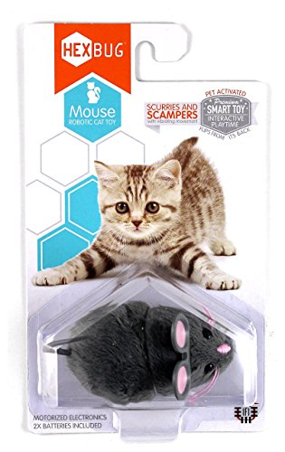 Hexbug Mouse Cat Toy grau
