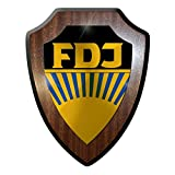 Wappenschild / Wandschild / Wappen - Freie Deutsche Jugend Pioniere DDR FDJ Ostalgie Wappen #8927