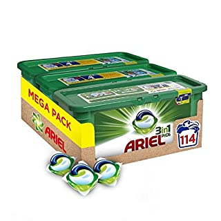 Ariel 3-in-1 Pods Original - Washing Liquid Capsules - 114 Washes