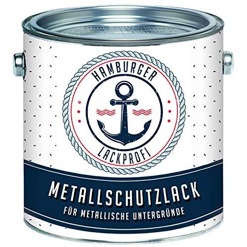Metallschutzlack MATT Olivgrün RAL 6003 Grün Metallschutzfarbe Metalllack Metallfarbe // Hamburger Lack-Profi (1 L)