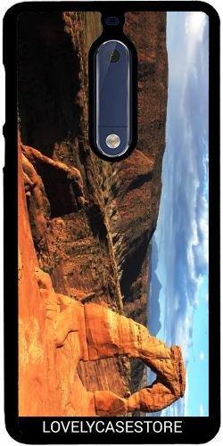Hülle für Nokia 5 - Grand Canyon Arizona USA USA Arid Wüste Klippe