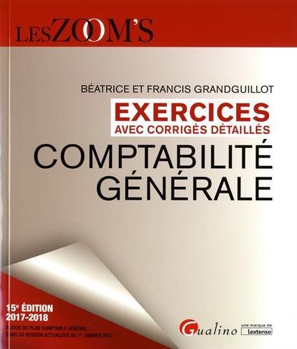 Comptabilit gnrale : Exercices avec corrigs detaills