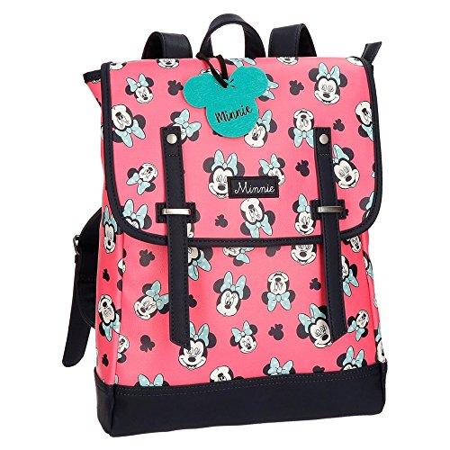 Disney Minnie Wink Zaino Porta Laptop per Donna e Ragazza Tempo Libero