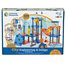 Learning Resources City Engineering and Design Building Set