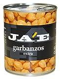 Ja'E Garbanzo Cocido Legumbre - Paquete de 6 x 500 gr - Total: 3000 gr