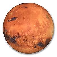 2 x 10cm Mars Vinyl Sticker Luggage Travel Tag Space Planets NASA Laptop #6287